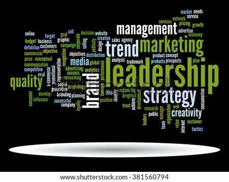Concept or conceptual abstract word cloud on black background as metaphor for business, trend, media, focus, market, value, product, advertising or customer. Also for corporate wordcloud
