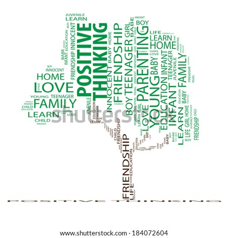 Concept or conceptual green text word cloud or tagcloud as a tree isolated on white background as a metaphor for child, family, education, life, home, love and school learn or achievement - stock photo