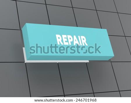 Concept REPAIR - stock photo