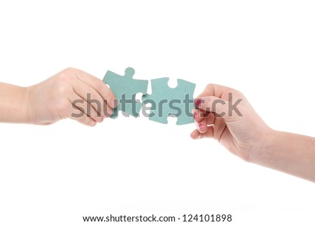 Concept solving problems - stock photo