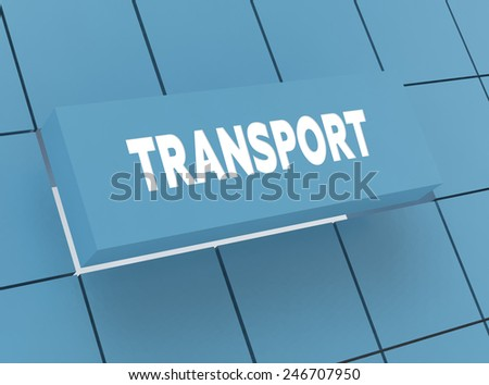 Concept TRANSPORT - stock photo