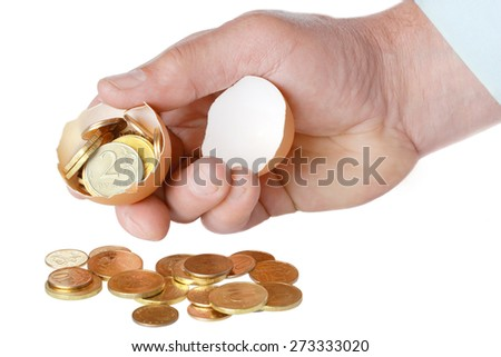 concept, which symbolizes a profitable business, success, fortune, luck, happiness