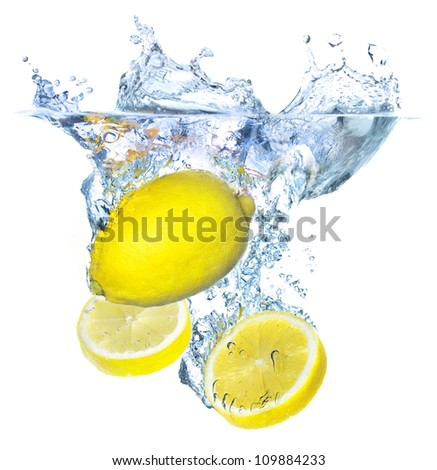 Concept with lemons. Tasty and healthy food