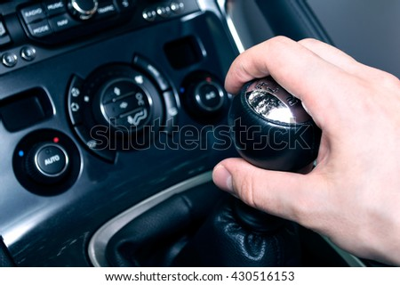 Conception of driving a car