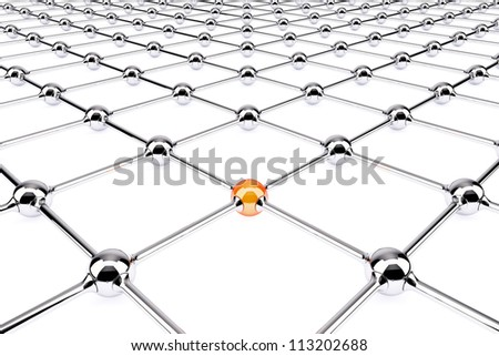 Conception of network - stock photo