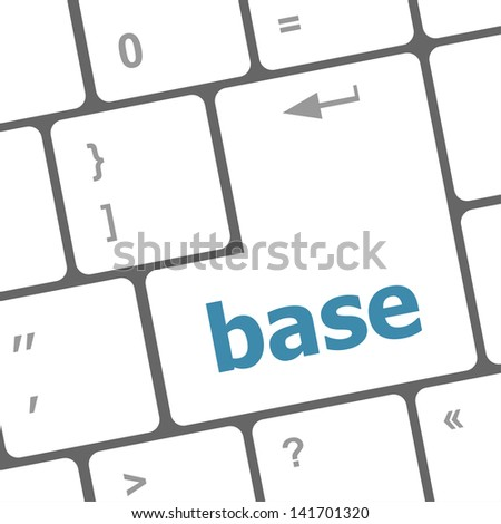 Concepts of E-learning, for computer based learning, message on enter key of keyboard