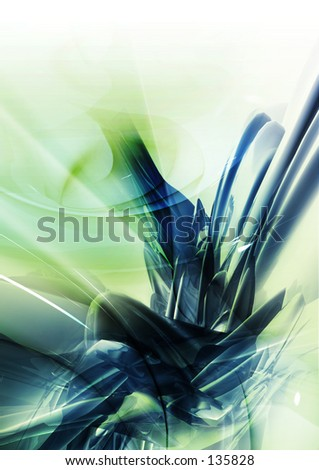 Conceptual Abstract Illustration 5 - stock photo