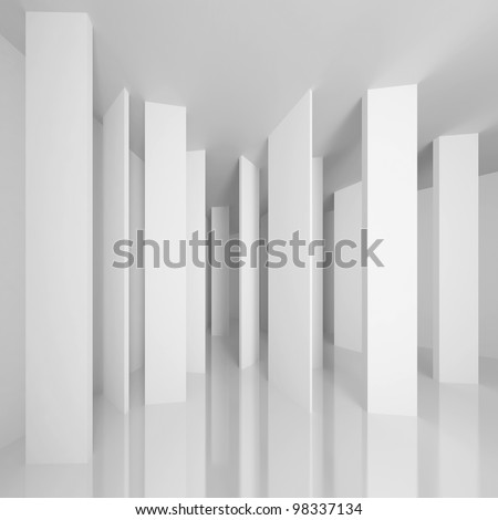 Conceptual Architecture Design - stock photo
