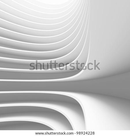 Conceptual Architecture Design - stock photo