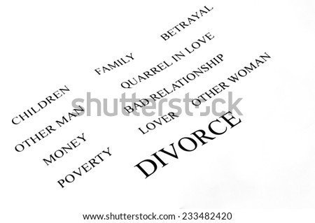 conceptual background of divorce and its problems