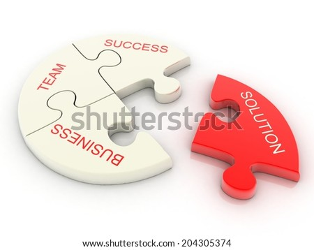 Conceptual Business - stock photo