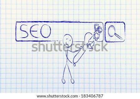 conceptual design about search engine optimization