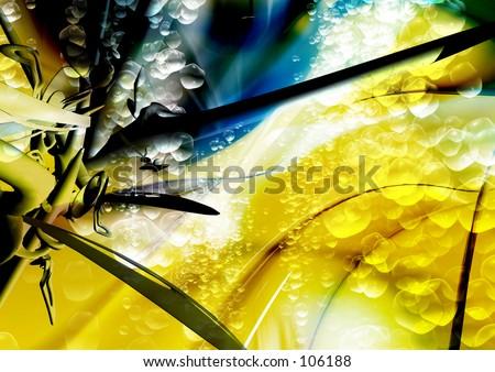 Conceptual Illustration 55 - stock photo