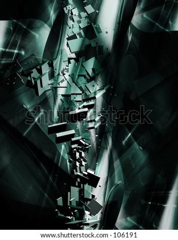 Conceptual Illustration 56 - stock photo