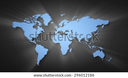 Conceptual image world map on concrete stock illustration 296012186 conceptual image with world map on concrete wall gumiabroncs Image collections