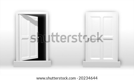 conceptual spiritual 3d render of doors also good for opportunity concepts  sc 1 st  Shutterstock & Conceptual Spiritual 3 D Render Doors Good Stock Illustration ...