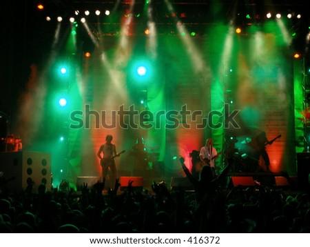 Concert - stock photo