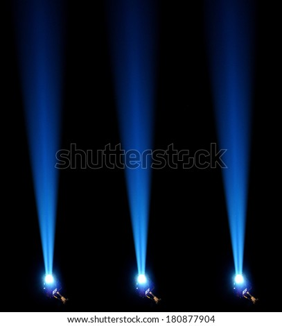 Concert lighting. Abstract background.