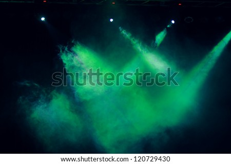 concert lighting textured background - stock photo
