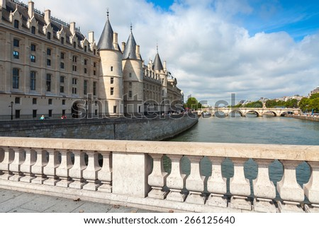 Conciergerie castle is a former royal palace and prison in Paris, France. Today it is a part of the popular complex known as the Palais de Justice, located on  the Cite Island