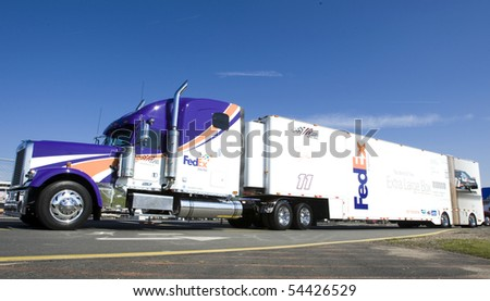 Haulers Nascar Race Stock Images Royalty Free Images