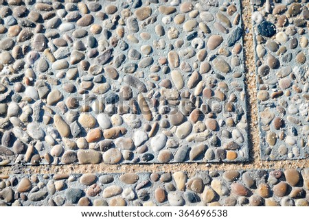 Concrete and natural stone background texture - stock photo
