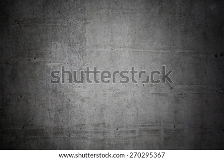 concrete background wall.