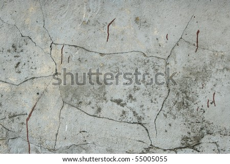 concrete background with cracks