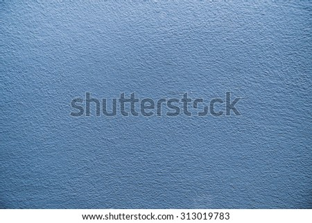 Concrete blue wall background
