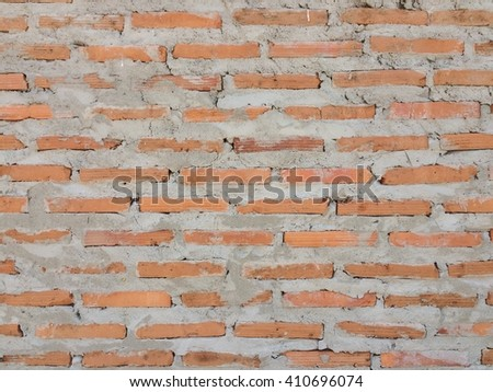 Concrete brick wall texture background