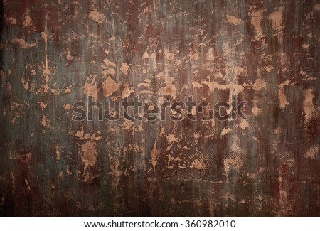 concrete colored wall. grunge metallic interior