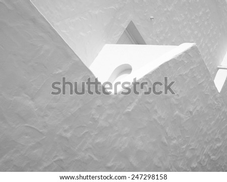 concrete composition - stock photo