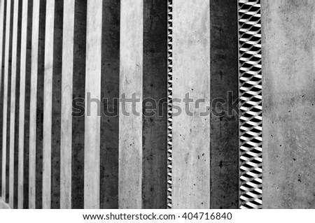 Concrete Construction - stock photo