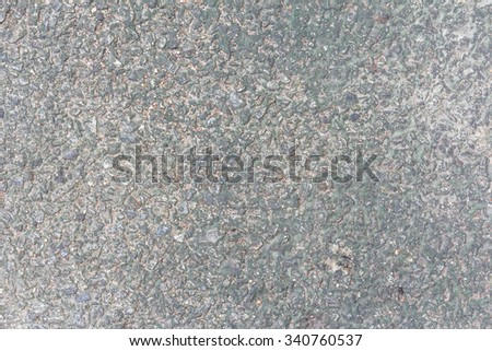 Concrete floor with rock texture background weathered