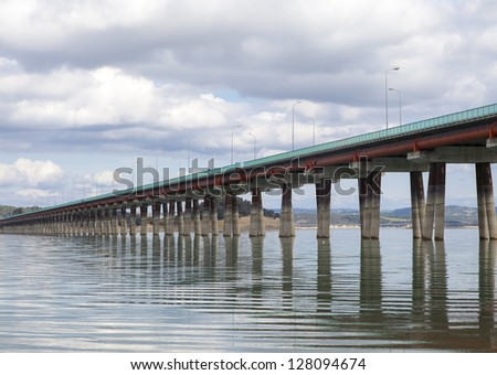 concrete long bridge