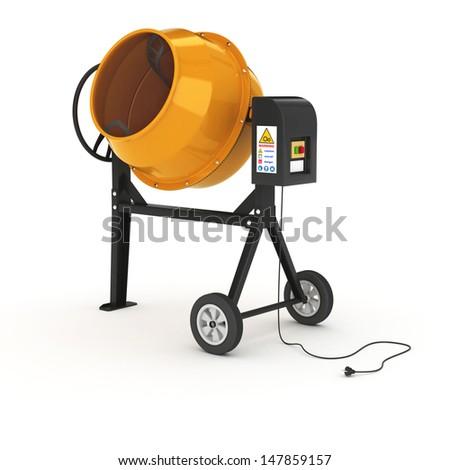 cement mixer stock photos royalty free images vectors. Black Bedroom Furniture Sets. Home Design Ideas
