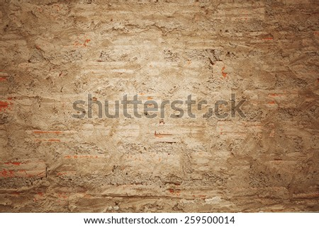Concrete or Cement wall background - stock photo