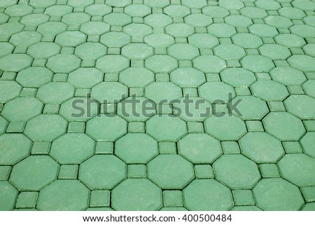 concrete pavement texture or background - stock photo