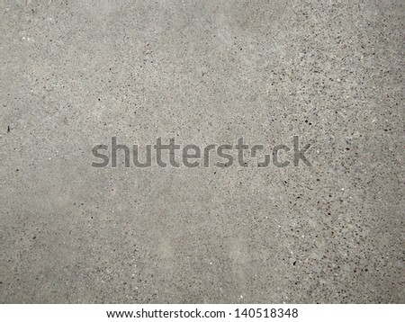 Concrete slab close-up good for patterns and backgrounds. - stock photo