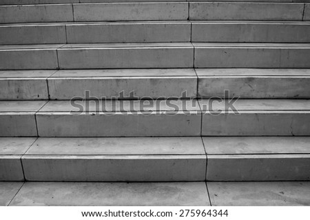 concrete stairway - stock photo