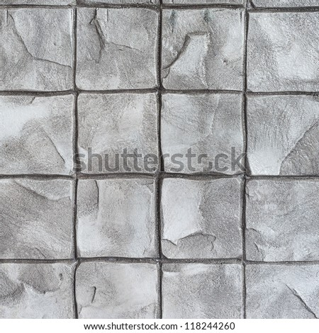 Concrete stamp Pattern for outdoor floor finishing