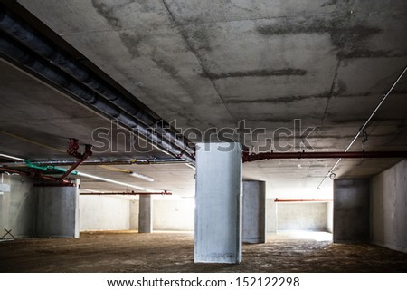 concrete structure series (parking garage)
