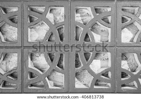 concrete ventilating block texture background