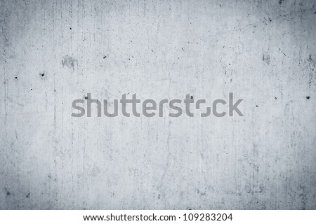 concrete wall background with dark edges - stock photo