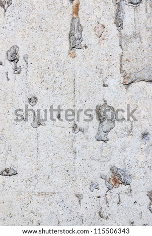 Concrete wall texture old dirty scratched plaster as grunge background
