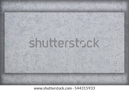 Concrete wall texture with colored plaster. Beautiful design facade painted plaster walls with small pits of various shapes. Preparation for framing pictures, images, text or title of the main