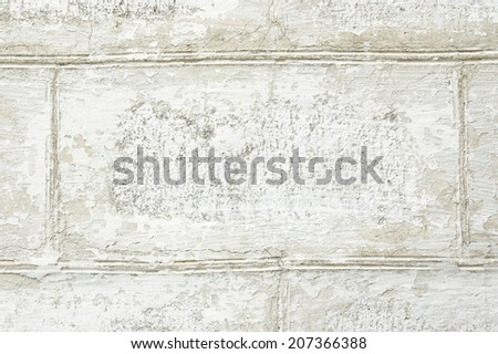 Concrete white grunge wall background