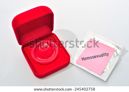 condom  - stock photo