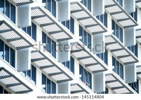 Condominium Building - stock photo