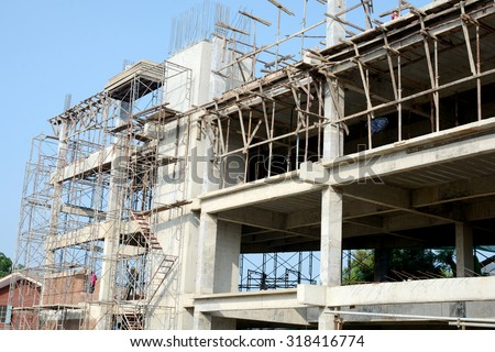 Condominium construction site